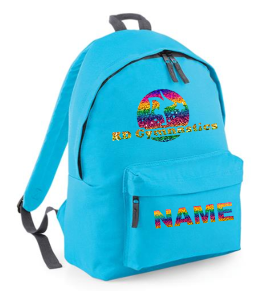 KDGC Personalised Backpack