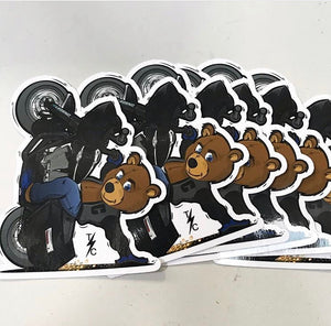 C-Bear Stickers