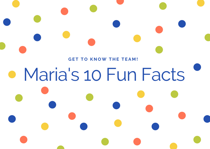 Get to know our Operations & Analytics Intern, Maria!