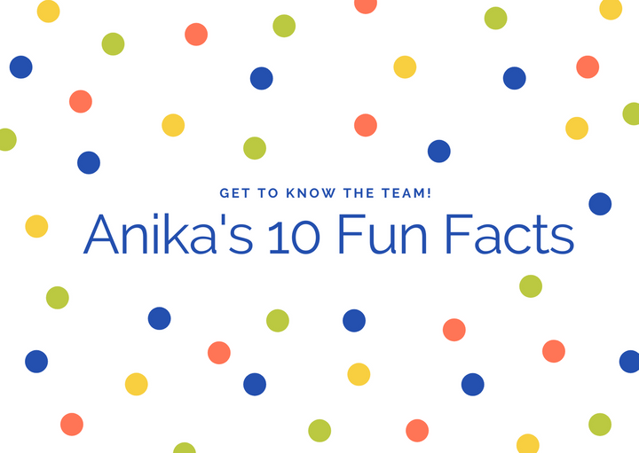 Get to know our Marketing Intern, Anika!