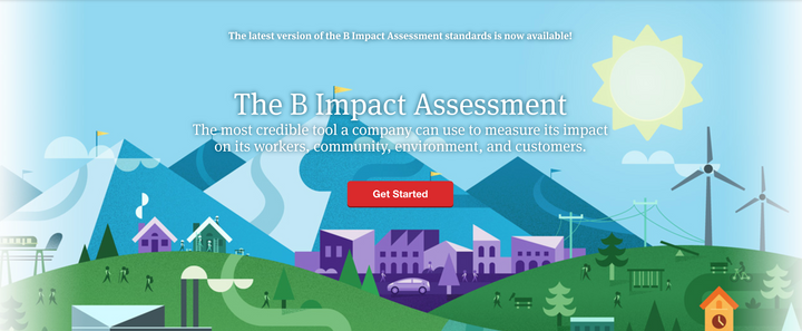 The B Impact Assessment: The first pass
