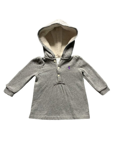 Ralph Lauren hooded dress, 9 months