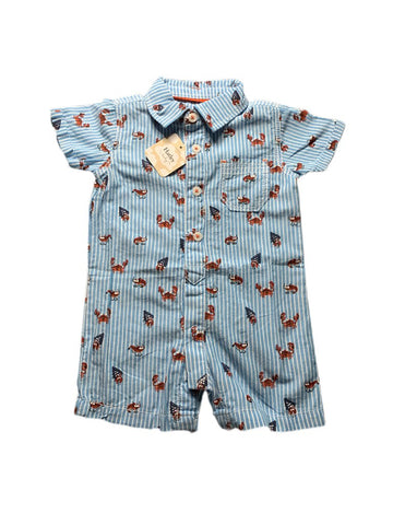 NEW Hatley romper, 0-3 months