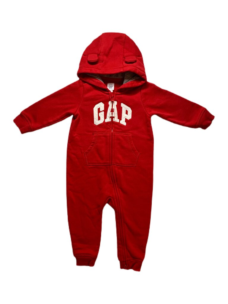 Gap hooded one-piece, 12-18 months