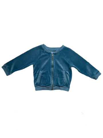 Gymboree velour zipper-up, 12-18 months