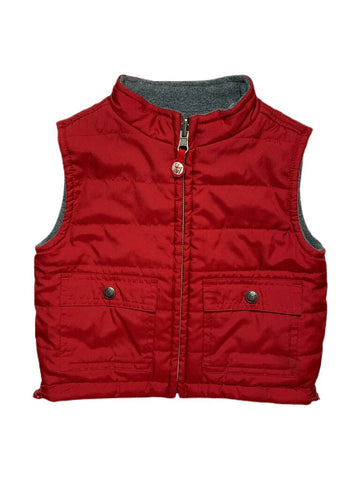 Janie and Jack reversible vest, 6-12 months