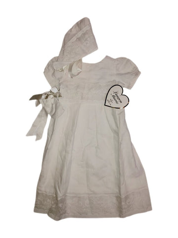 NEW Lauren Marie Christening dress, 0-6mths