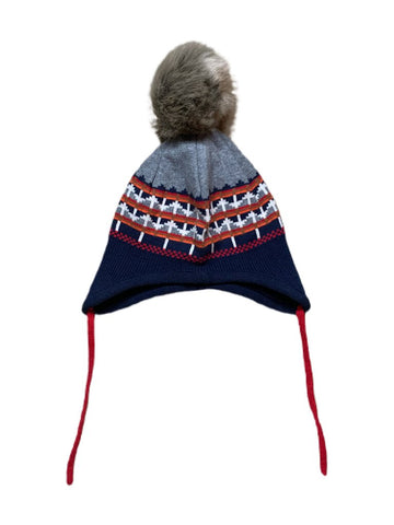 Hanna Andersson knit hat, 1-2