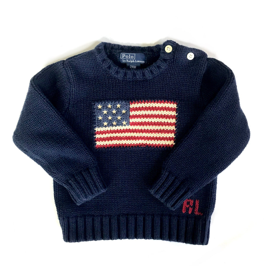 Ralph Lauren sweater, 24 months