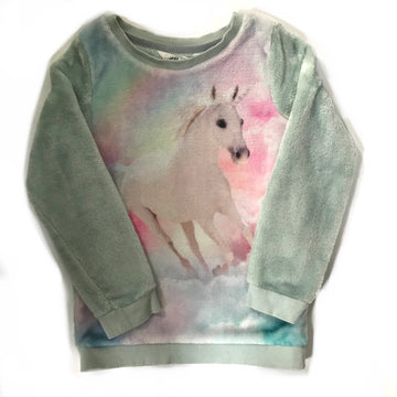 H&M unicorn top, 4-6