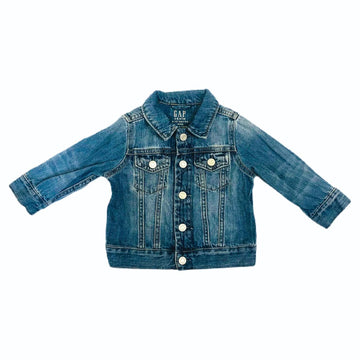 Gap denim jacket, 6-12 months