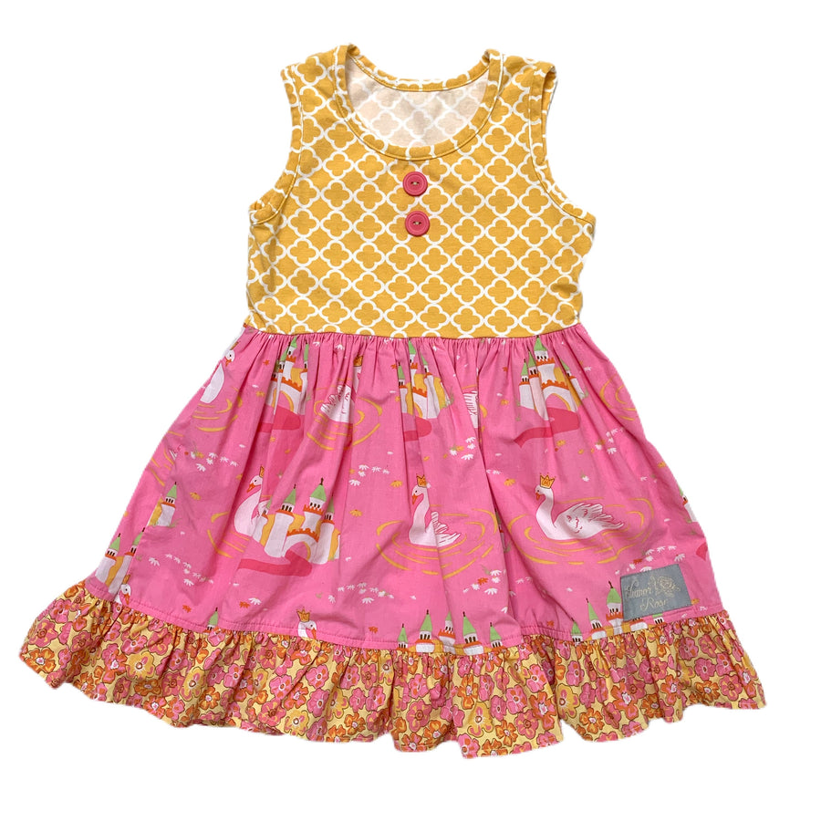 Eleanor Rose dress, 3-4