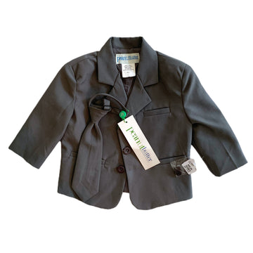 NEW Peanut Butter Collection suit jacket and tie, 12 months