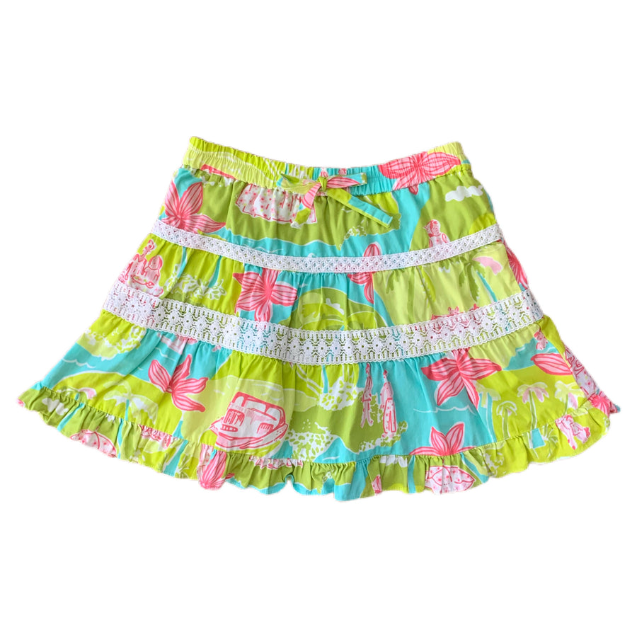 Lilly Pulitzer skirt, 4