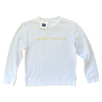 NEW Janie and Jack sweatshirt, 6