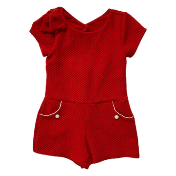 Janie and Jack romper, 4