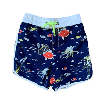 Mini Boden swim trunks, 6-7