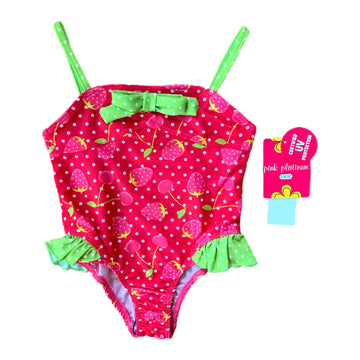 NEW Pink Platinum swimsuit, 3T