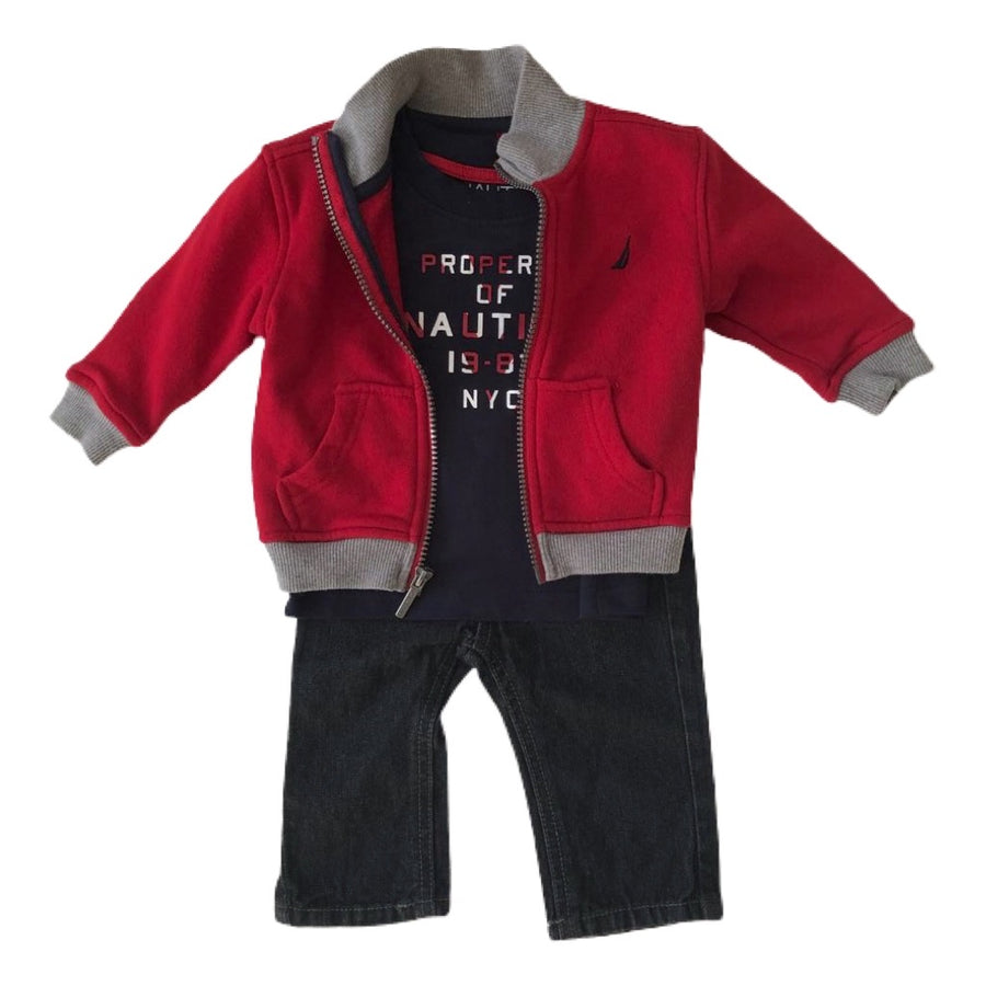 Nautica outfit, 0-3 months