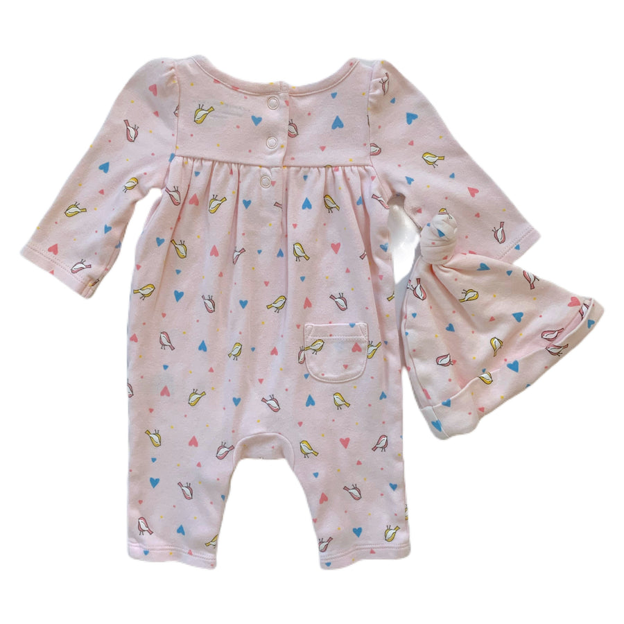 Janie and Jack romper, newborn