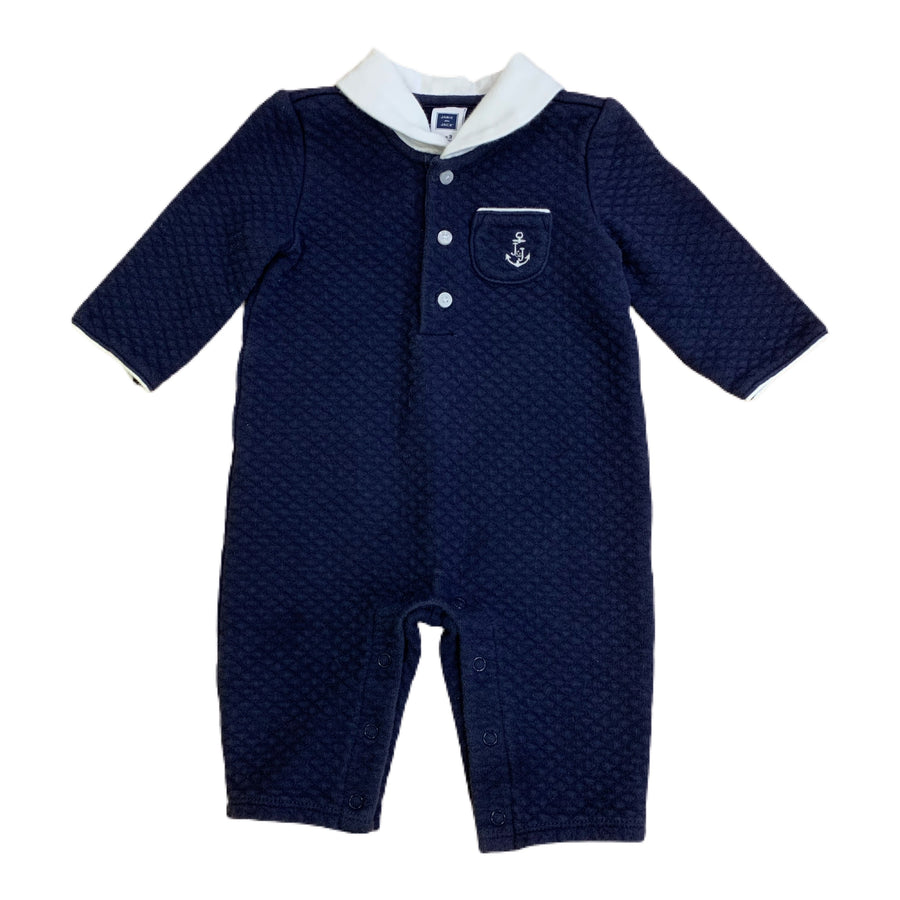 Janie and Jack romper, 0-3 months