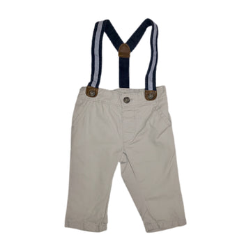 Gymboree pants with suspenders, 3-6 months
