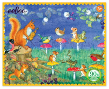 NEW eeBoo Firefly Party 36 Piece Mini Puzzle