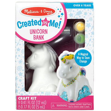 NEW Melissa & Doug Created by Me! Unicorn Bank