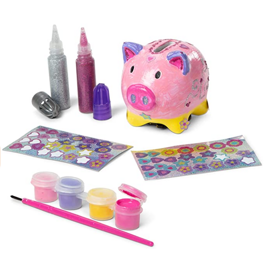 NEW Melissa & Doug Created by Me! Piggy Bank