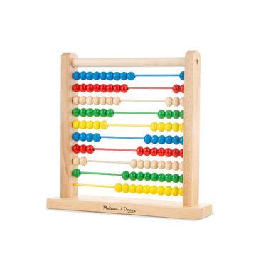 NEW Melissa & Doug Abacus Classic Wooden Toy