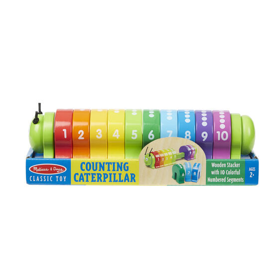 NEW Melissa & Doug Counting Caterpillar Classic Toy