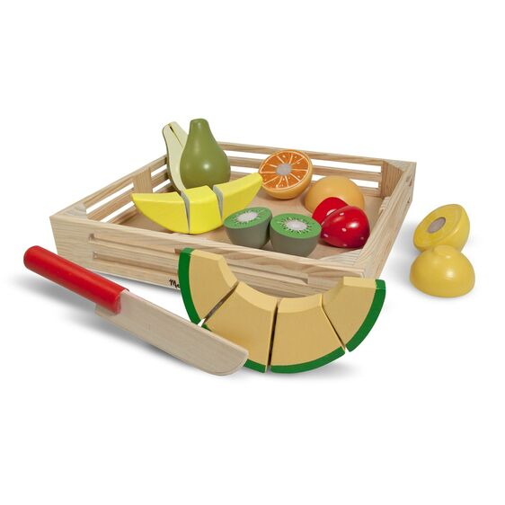 NEW Melissa & Doug Cutting Fruit Set