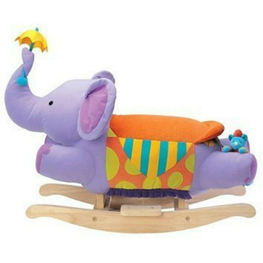 Parents Magazine plush ride-on rocking elephant