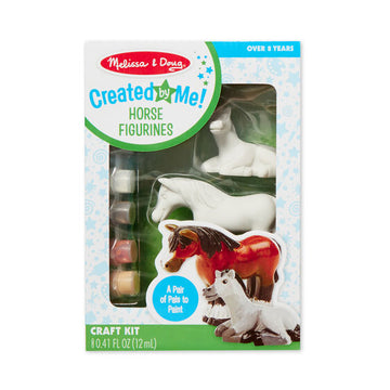NEW Melissa & Doug Created by Me! Horse Figurines