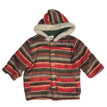 Vintage Petit Boy striped coat, 4