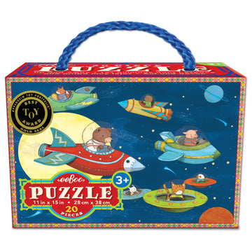 NEW eeBoo Up and Away 20 Piece Puzzle
