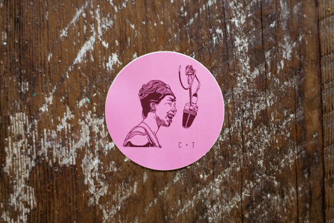 Aretha Franklin- Sticker