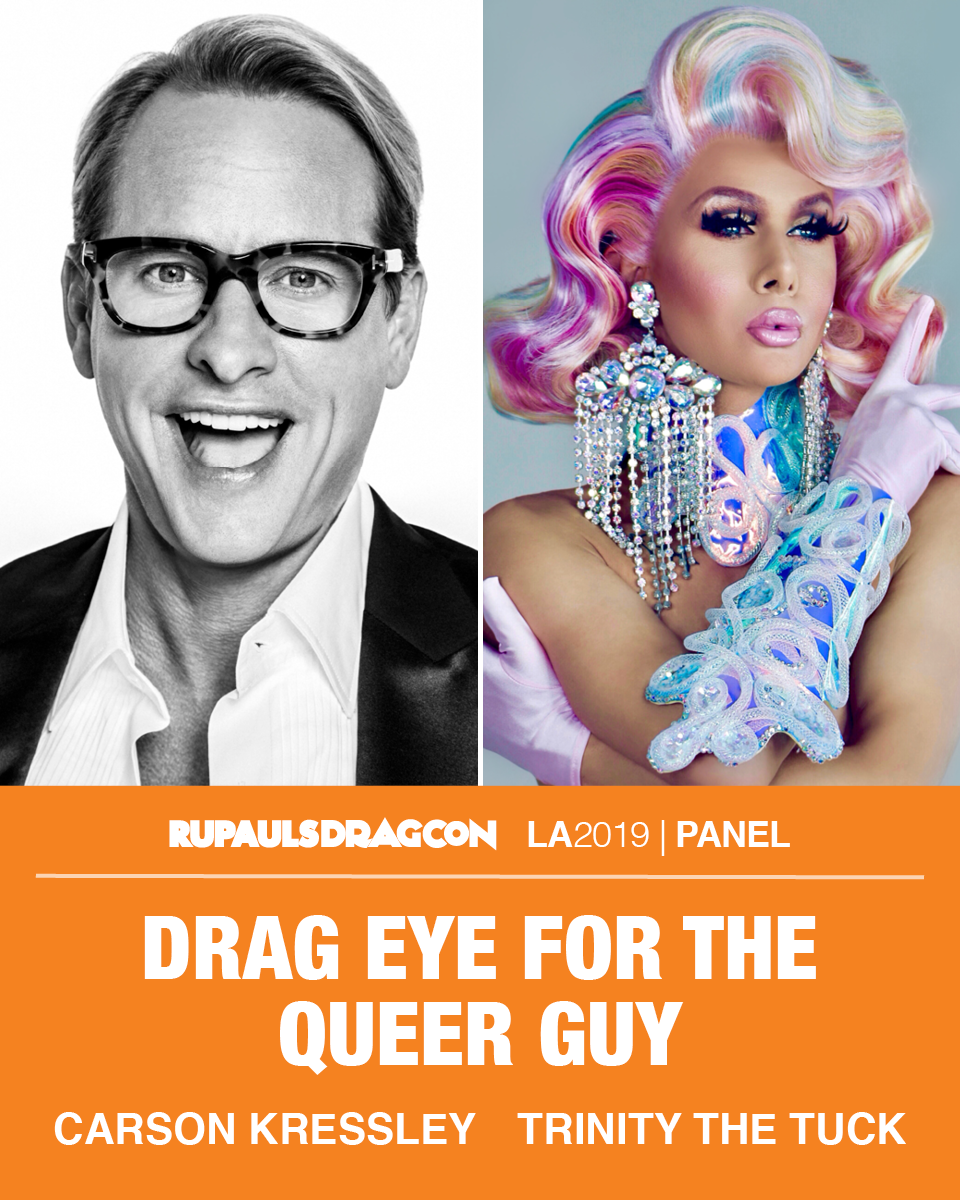 DragCon LA Panel Announcement featuring Trixie, Katya, Carson Kressley, & Trinity The Tuck