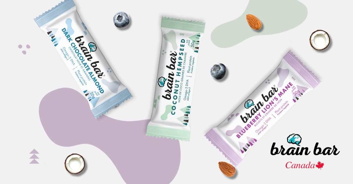 nootropic plant-based protein bar