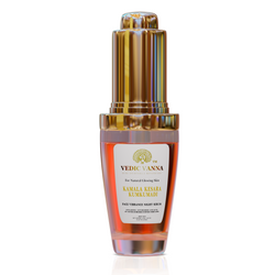 Kamala Kesara Kumkumadi Skin Night Serum, 12 ML