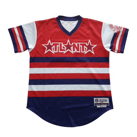 Atlanta Authentic Baseball Jersey-J.Hinton Collections