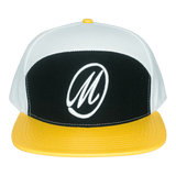 Marksmen Premium Adjustable Snakeskin (M Logo B/Y) Cap-J.Hinton Collections