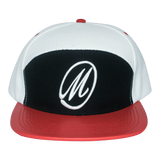 Marksmen Premium Adjustable Snakeskin (M Logo B/R) Cap-J.Hinton Collections