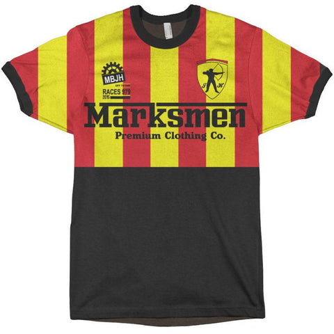 Marksmen Off to the Races Soccer Style Tshirt-J.Hinton Collections