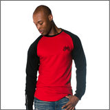 JH Red Diamond Printed Sweatshirt-J.Hinton Collections