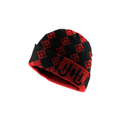 JH Wool Beanie (Red)-J.Hinton Collections