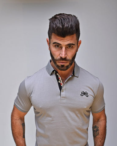 JH Signature Polo (Grey)