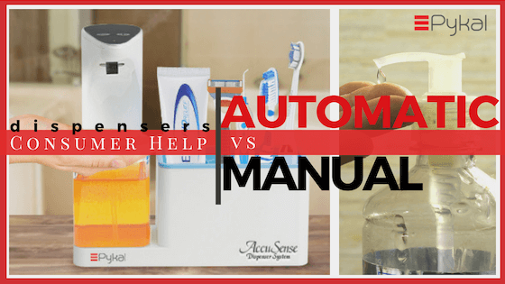 AUTOMATIC SOAP DISPENSER vs MANUAL
