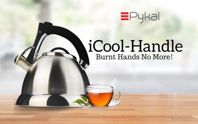 I-COOL HANDLE WHISTLING KETTLE