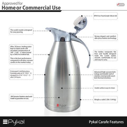 pykal carafe features